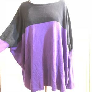 Vince camuto oversize top Sweater duo color